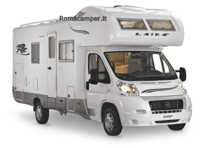 Scheda camper laika ecovip 6 for Laika camper