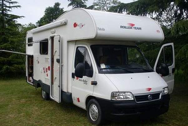 Camper roller team schede tecniche disposizione interna for Garage mj auto